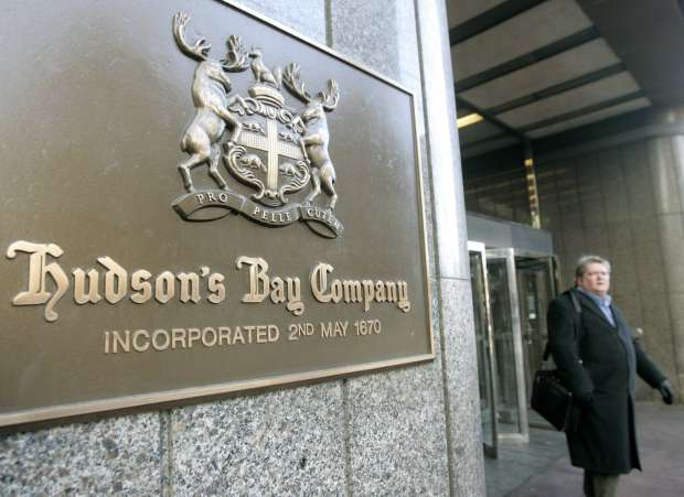 Hudson's Bay tries to distance itself from the U.S industry that is collapsing around it