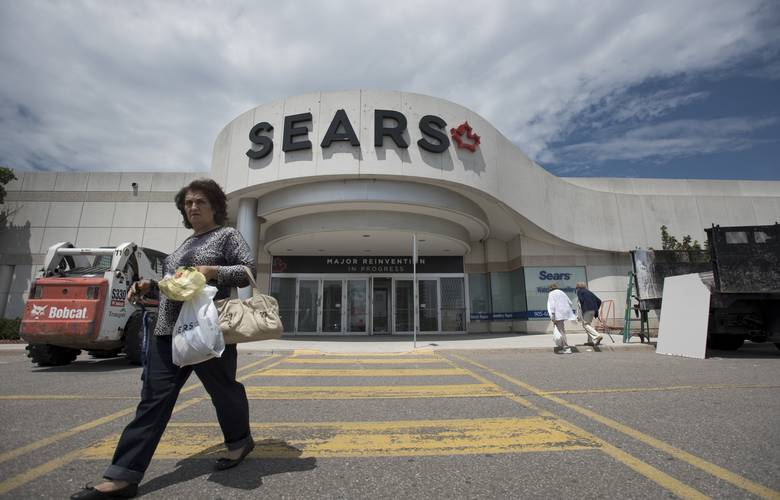 Sears Canada seeks reinvention as it falls to insolvency