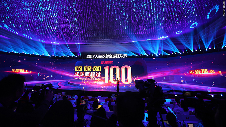 China may hold the future of retailing as Singles' Day marries online and offline stores